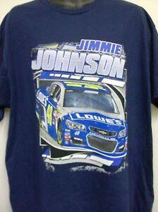 Jimmie Johnson Lowe's 2016 Loud & Proud T-Shirt - Adult XXL Free Ship  #48