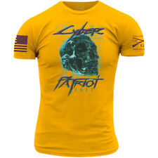 Grunt Style Cyber Patriot T-Shirt - Large - Yellow