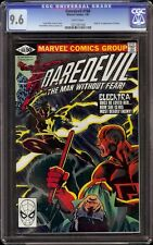 Daredevil # 168 CGC 9.6 White (Marvel, 1981) 1st appearance of Elektra