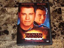 John Travolta Rare Authentic Hand Signed Broken Arrow Movie Film DVD + Photo WOW