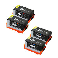 4* 920XL 920 XL Black High Yield Ink Cartridge for HP OfficeJet 6500a 6500 6000