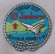 Suffolk Co Council (NY) 1989 National Jamboree PP  BSA