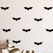 Aufkleber 4 Stück Batman Fledermaus Kinderzimmer Wandsticker