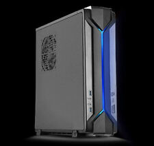 Silverstone RAVEN Mini-ITX/Mini-DTX RGB Light Slim Desktop/HTPC Case (RVZ03B)