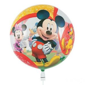 """22"""" Bubbles Mickey Mouse Clubhouse Friends Disney Stretchy Plastic Balloon Party"""