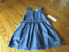 GUESS Toddler Girls Denim Dress Size 3T NWT