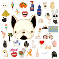 Pin badge Kawaii. Pin badges Cute lama Punk Goth Sets. Enamel DIY 90+ Designs