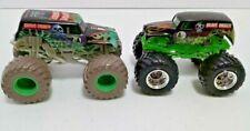 Monster Jam 1/64 Diecast Grave Digger Monster Trucks- Lot Of 2