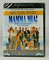 Mamma Mia Here We Go Again ( 4K Ultra HD,Blu-ray ) Read Description !