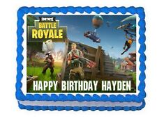 Fortnite party edible cake topper frosting sheet***