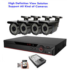 4Ch 6MP H.265 HDMI DVR 4-in-1 OSD 2.6MP Outdoor 72IR Security Camera System TR
