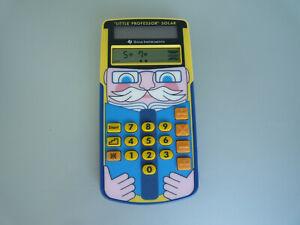 Kinder Taschenrechner TI Little Professor Solar Schulrechner