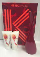 f81a1968 Kenzo Amour Women's Set EDP Spray 3.4 oz+Shower Honey 1.7 oz+ Body Lotion  1.7