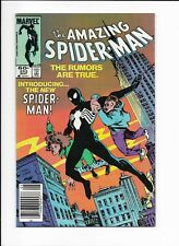 THE AMAZING SPIDER-MAN #252 ==> NM 1ST BLACK ALIEN SYMBIOTE COSTUME 1984