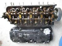 Honda Civic D15 SOHC VTEC-E Cylinder Head With Valve Cover