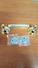 Toilet Paper Holder Polished Brass