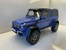 GT SPIRIT B66961030 1:18 MERCEDES BENZ W463 G500 4X4 CRAZY COLOR 2017 BLUE BLAU