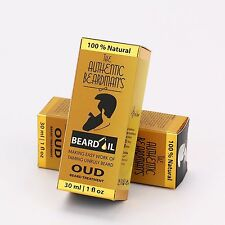 Beard Oil - Luxurious Oud Blend - The Authentic Beardman's Beard Oil Is A Grade