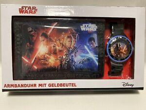 Star Wars Armbanduhr Mit Geldbeutel