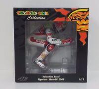 MINICHAMPS VALENTINO ROSSI 1/12 MODELLINO FIGURA YAMAHA 2005 VALENCIA MOTOGP NEW