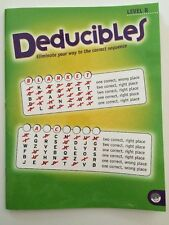 DEDUCIBLES Level B ELIMINATE YOUR WAY TO THE CORRECT ANSWER MindWare SCHOOL BOOK