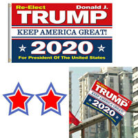 Trump 2020 Re-Election Flag 3x5 US Keep America Great Donald President USA NEW R