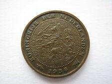 Netherlands 1936 1/2 Cent, A UNC.