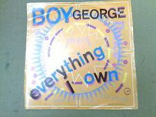 "BOY GEORGE - EVERYTHING I OWN - 7"" SINGLE"