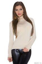 Camisas y tops de mujer blusa Color principal Beige Talla 38