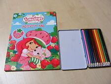 infantil Strawberry Shortcake Para Colorear Libro De Actividades & Estaño 12