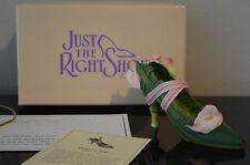 Just The Right Shoe Raine Fanny Qvc Slipper #25053 - Green - Mib #A