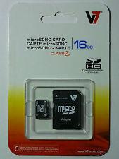 V7 16GB microSDHC VAMSDH16GCL4R - NEW!!