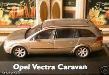 OPEL VECTRA CARAVAN SCHUCO MODELS +++ 1/43 BREAK GRIS GERMANY STATIONWAGON SW