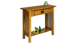 A. A. Laun Workbench Classics Sofa Table With Drawer #2609 - On Sale!
