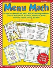 Menu Math: 12 Super-Fun Reproducible Menus with Skill-Building Worksheets That G