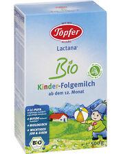 TOPFER Lactana Bio 4 Organic Kinder Follow-On Milk Formula 12+ Month 500g 17oz