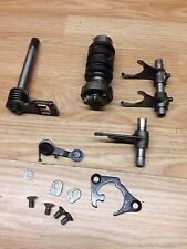 Suzuki RM85 RM 85 2002 Gear Box Selector Assembly, Shaft Drum, Arms