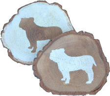 Bulldog Coaster Reclaimed Wood