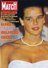Couverture magazine,Coverage Paris-Match 25/02/83 Stéphanie de Monaco