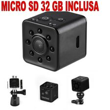 Mini DVR Wifi + Micro SD 32 GB Video Camera SQ13 1920X1080 Full HD 30fps 155°