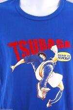 RARE Captain Tsubasa Road to 2002 Japanese Anime Football 30th Anniversary Shirt