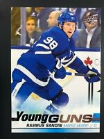 2019-20 UD Young Guns Rookie Rasmus Sandin