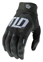TROY LEE DESIGNS TLD MENS GREEN BLACK CAMO MTB CYCLING AIR GLOVES size SMALL