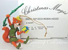 Grolier Disney Robin Hood Ornament Fox Swinging Christmas Magic DCO MIB RARE