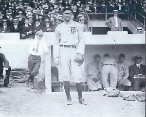 "Ty Cobb - 8"" x 10"" Photo - 1920's - Navin Field - Detroit Tigers"