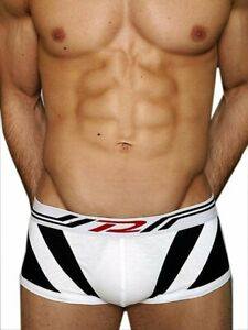 SPEEDWAY TRUNK - Black & White, by Pistol Pete. Size Small