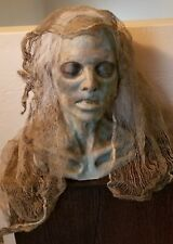 Halloween Horror Dead Zombie Prop Head & Hands - Haunted House SCARY!