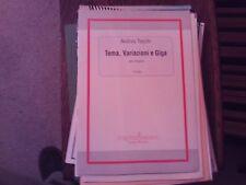 Andrea Toschi: Tema, Variazioni e Giga, organ (Pizzicato)