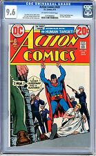 Action Comics #423  CGC 9.6  NM+  off white to white Pages