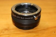 Vintage DeJur Auto Tele Converter 2X For Contax